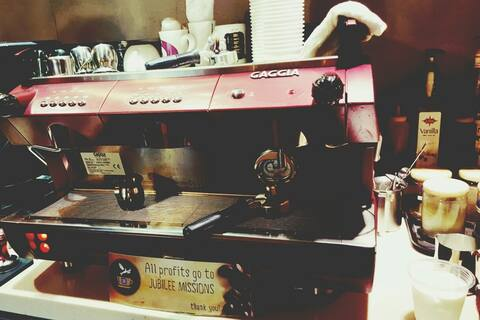 New Espresso Machine for Ecclesia