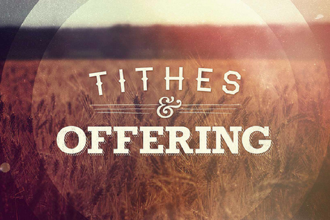 Jubilee Tithing and Offering